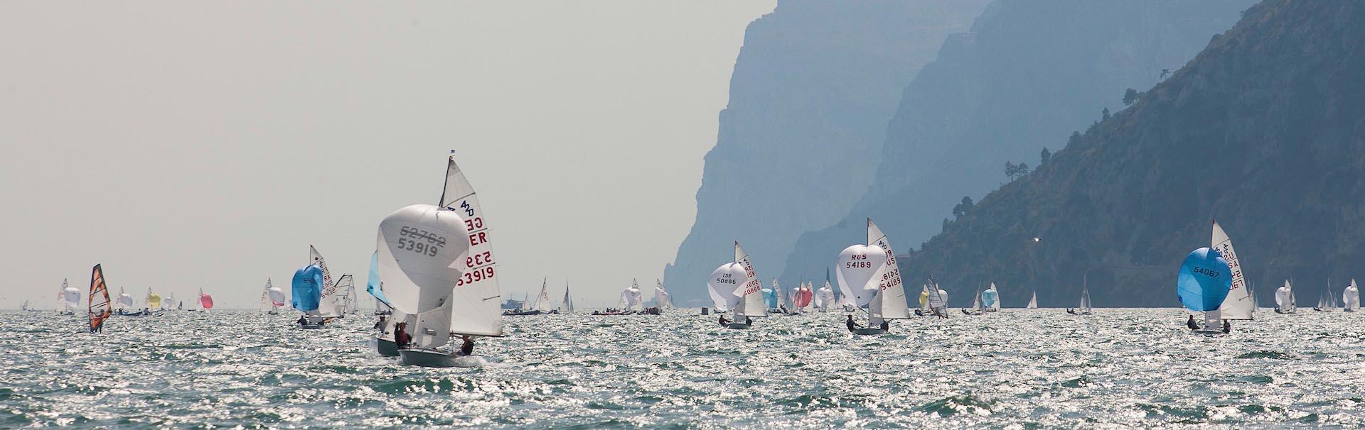 A vela sul Lago di Garda
