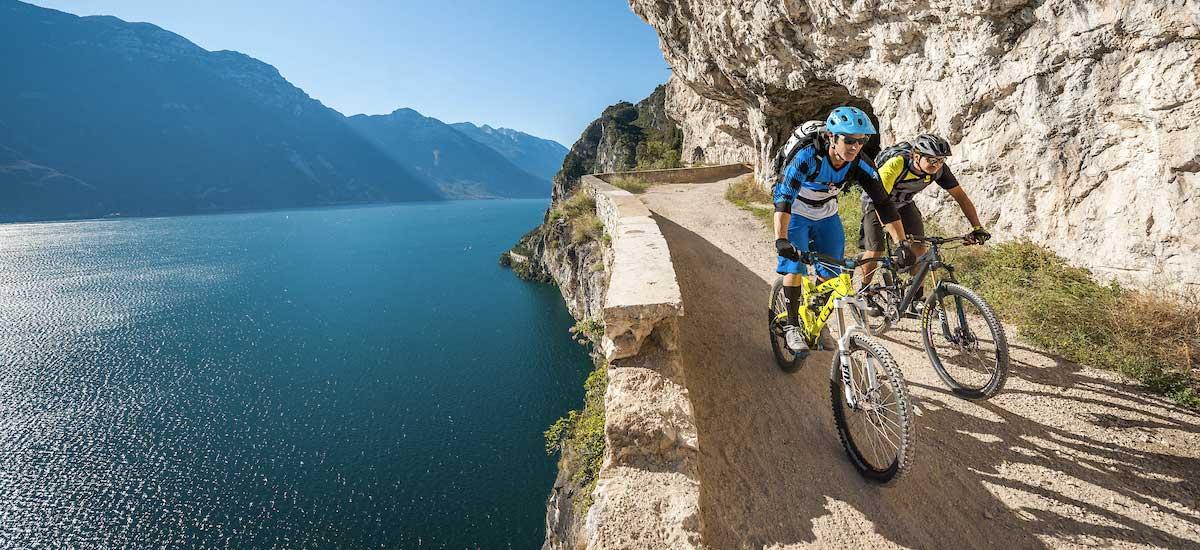 Una settimana sul Lago di Garda pedalando verso il  Bike Festival 2019