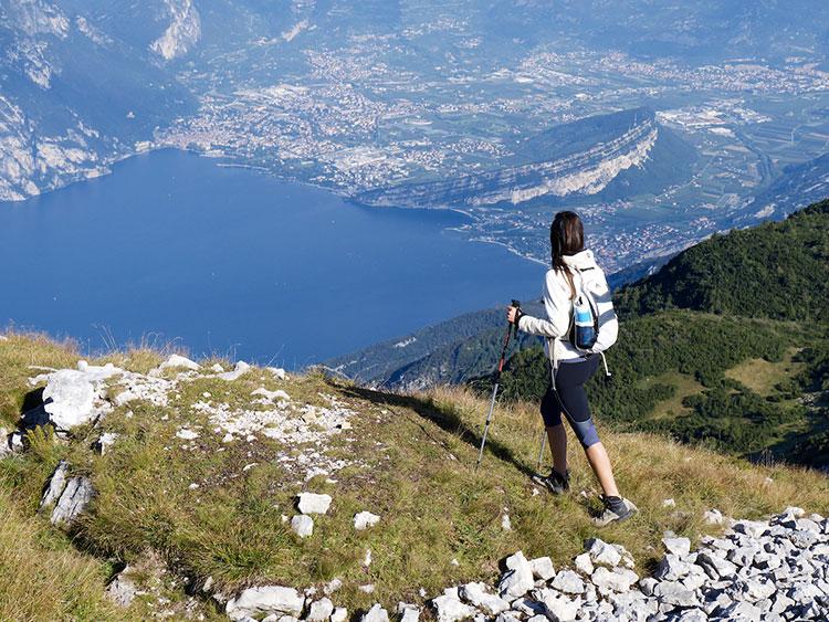 Trekking Monte Baldo -foto Garda Trentino