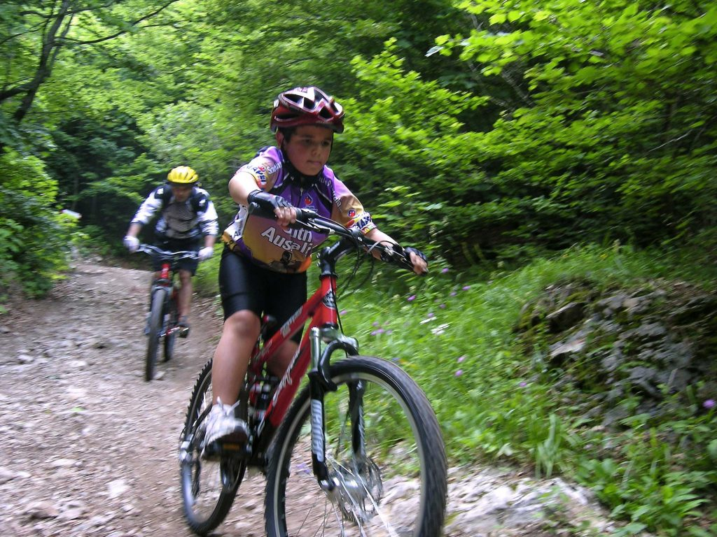 Kindern bike Urlaub Gardasee
