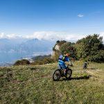 Bicicletta elettrica sul Lago di garda